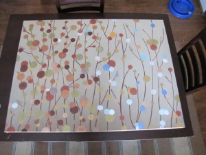 DIY Canvas Sponge Art